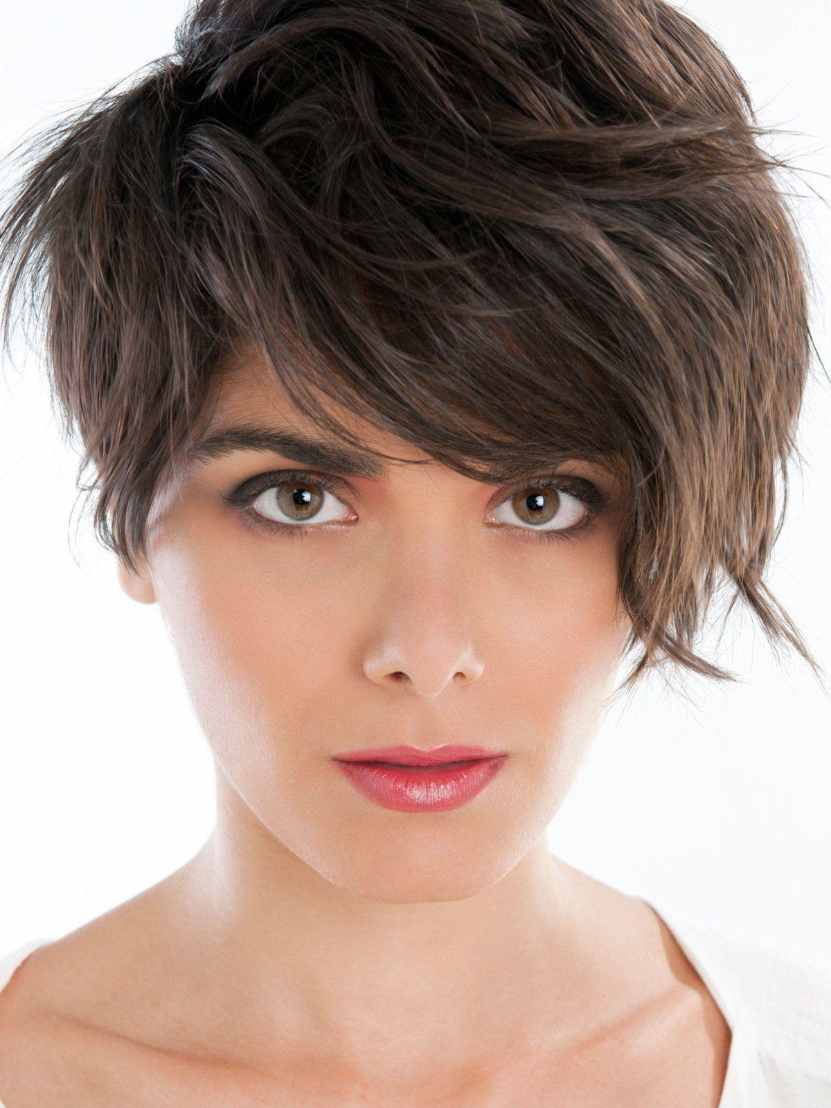 Retrofrisur Pilzkopf Frisuren Pixie Haarschnitt Haarschnitt