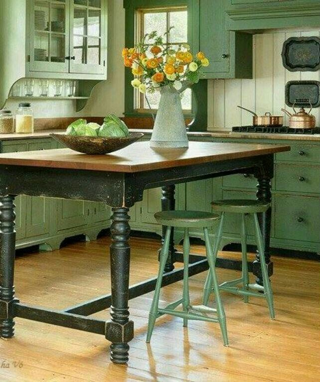 Guilford Green Kitchen Cabinets: Pin By Natalia Kaprosh On Color Themes