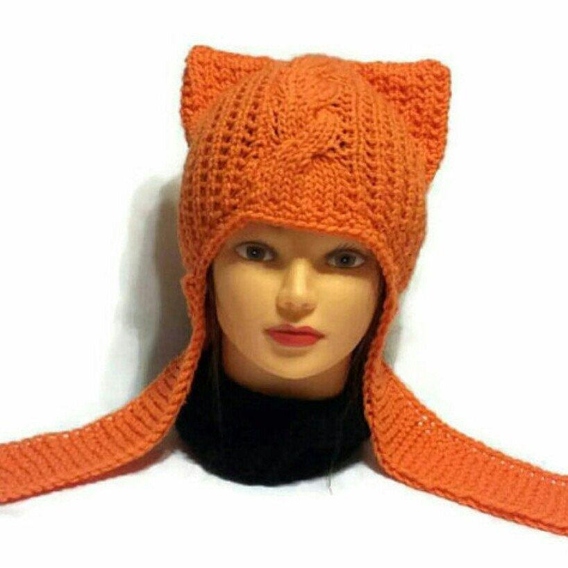 a1c2278f21e Earflap Pyssycat Hat Women s March