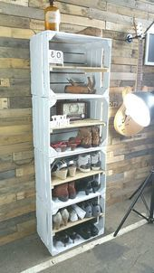 Where can you find wooden crates and crates?