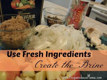 Learn to brine a turkey | PreparednessMama