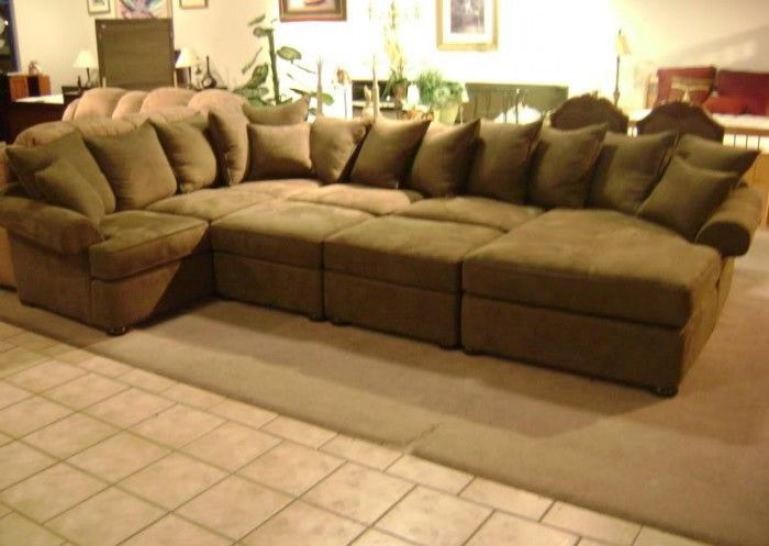 Sectional Sofa Add The Ottomans And You Get A Playpen Home Sectional Sofa Sectional