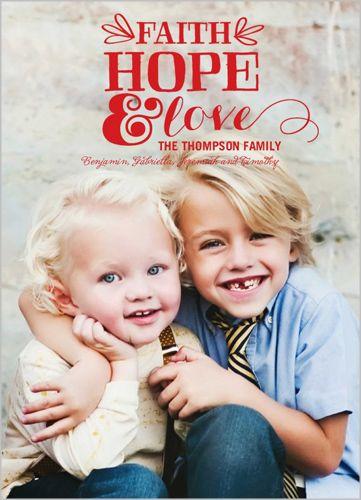 Hopeful Celebration 5x7 Stationery Card by Hello, Kelle Christmas