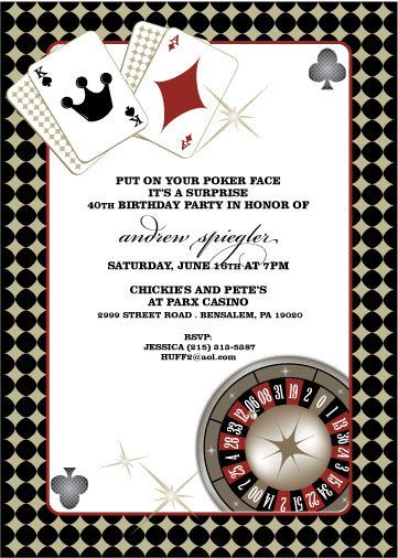 vegas casino birthday invitation by azurebluedesign on. Black Bedroom Furniture Sets. Home Design Ideas
