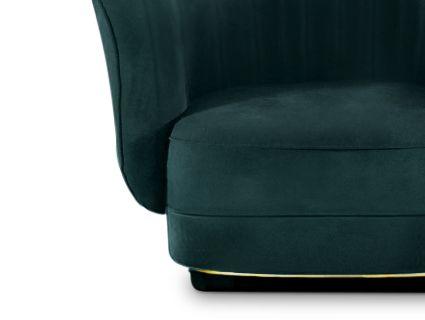 Wohnzimmer luxus ~ Samt sessel velvet chair luxus wohnzimmer luxury living room
