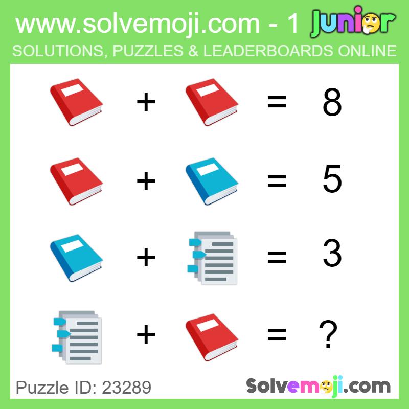 Solvemoji - Emoji Math Puzzles & Games | Maths - Number