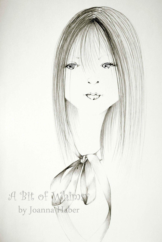 Original minimalist art black and white art modern art