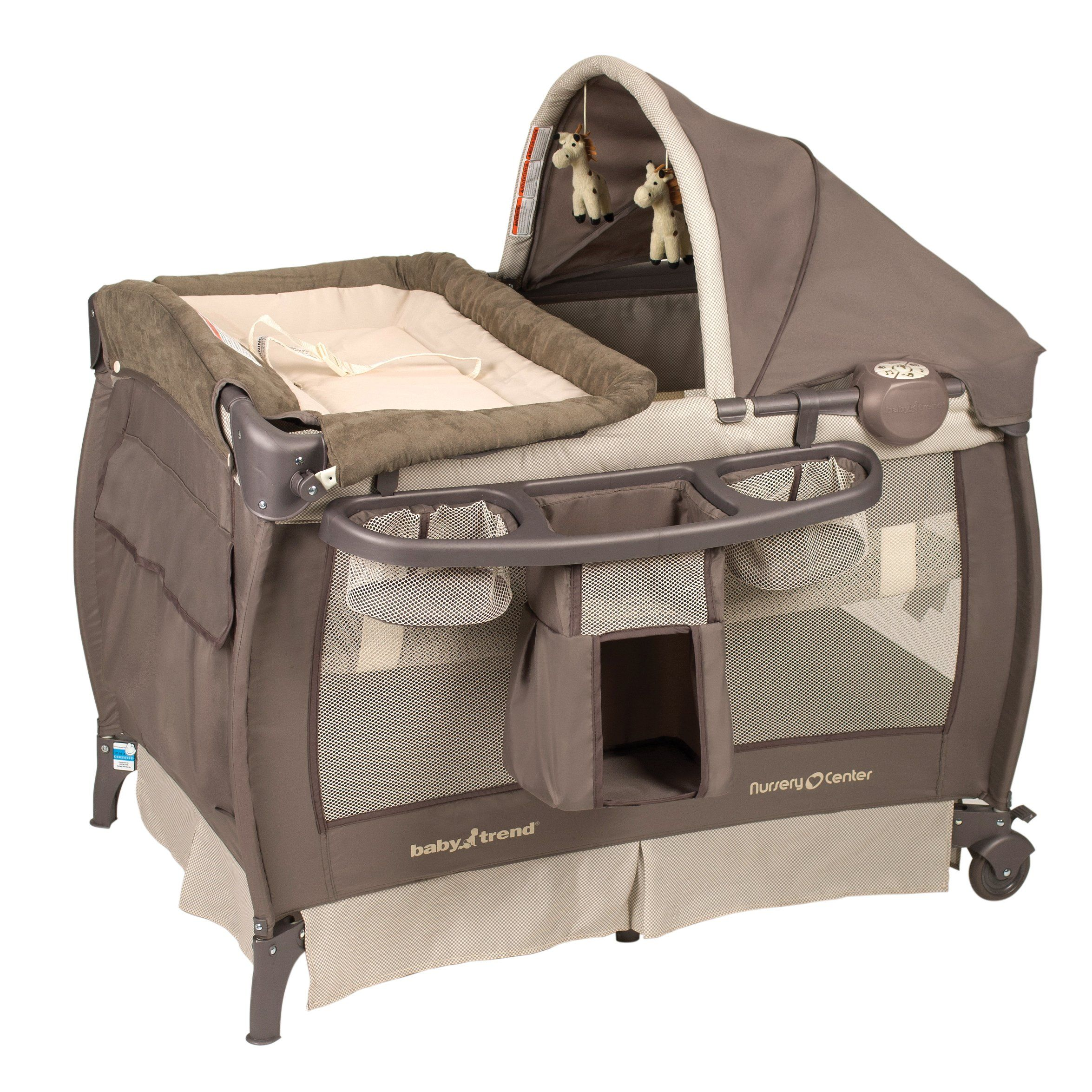 Amazon.com : Baby Trend Deluxe Nursery Center, Hudson ...
