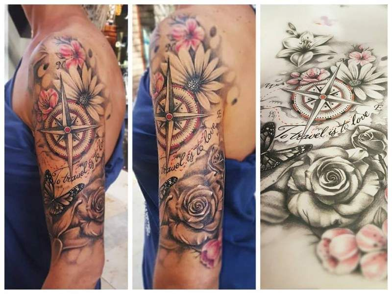 Photo of Best Sleeve Tattoo Ideas for Women/Men which you'll fall in love with – Hike n Dip