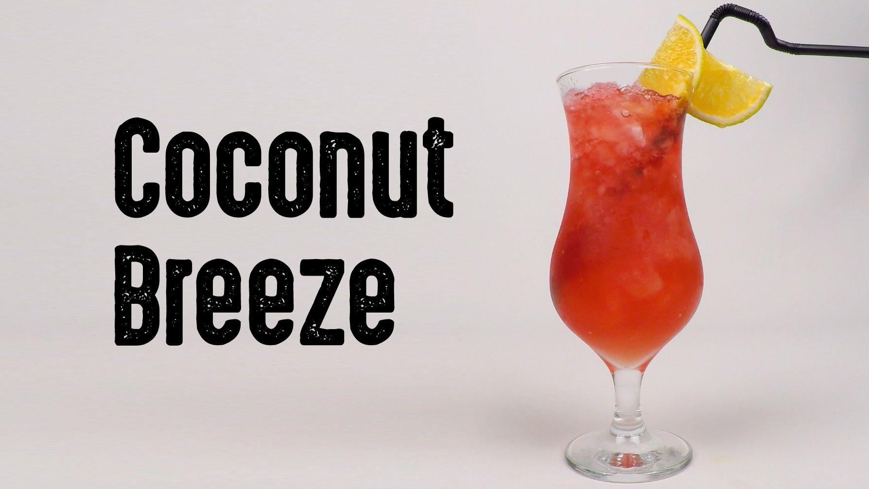 Aprenda A Fazer O Drink Coconut Breeza Receita Completa No Site Doses De Tequila Drinks E Coqueteis Tequila