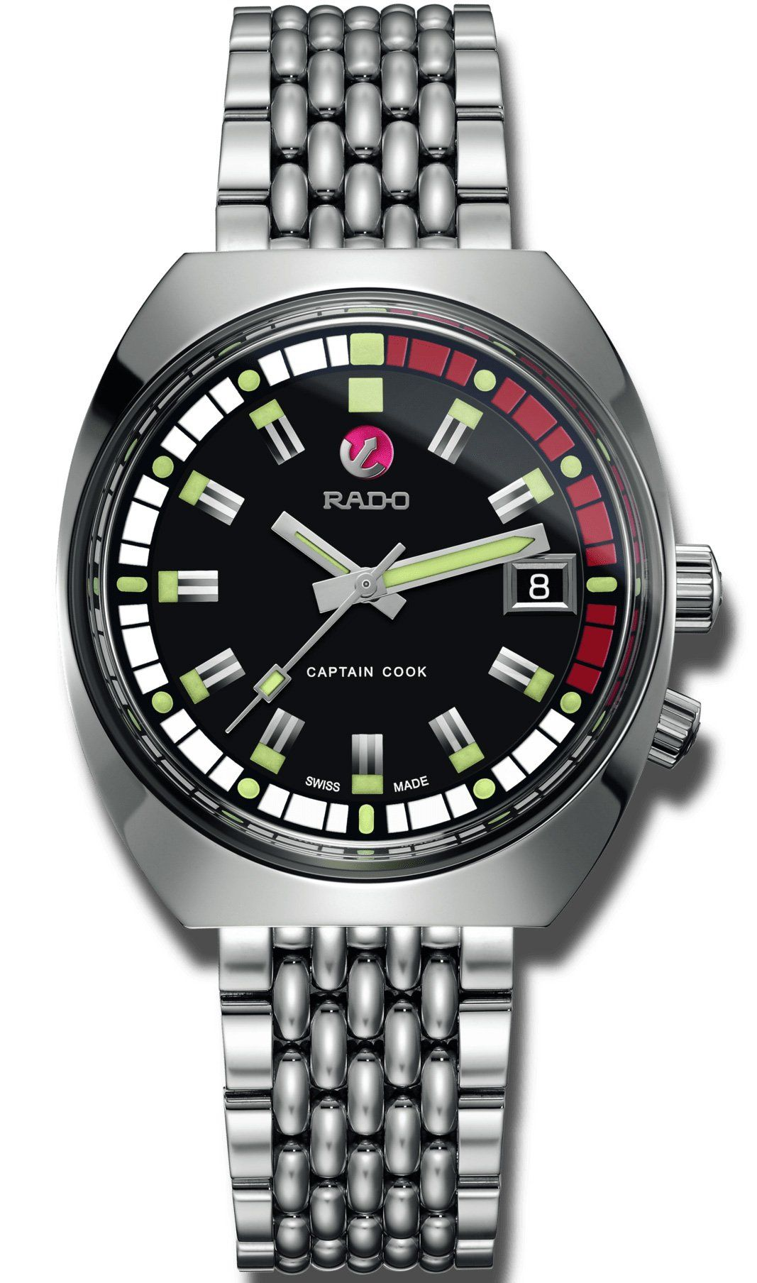 Rado Watch Tradition Captain Cook M Limited Edition Luxury Watches For Men Rado Limited Edition Watches