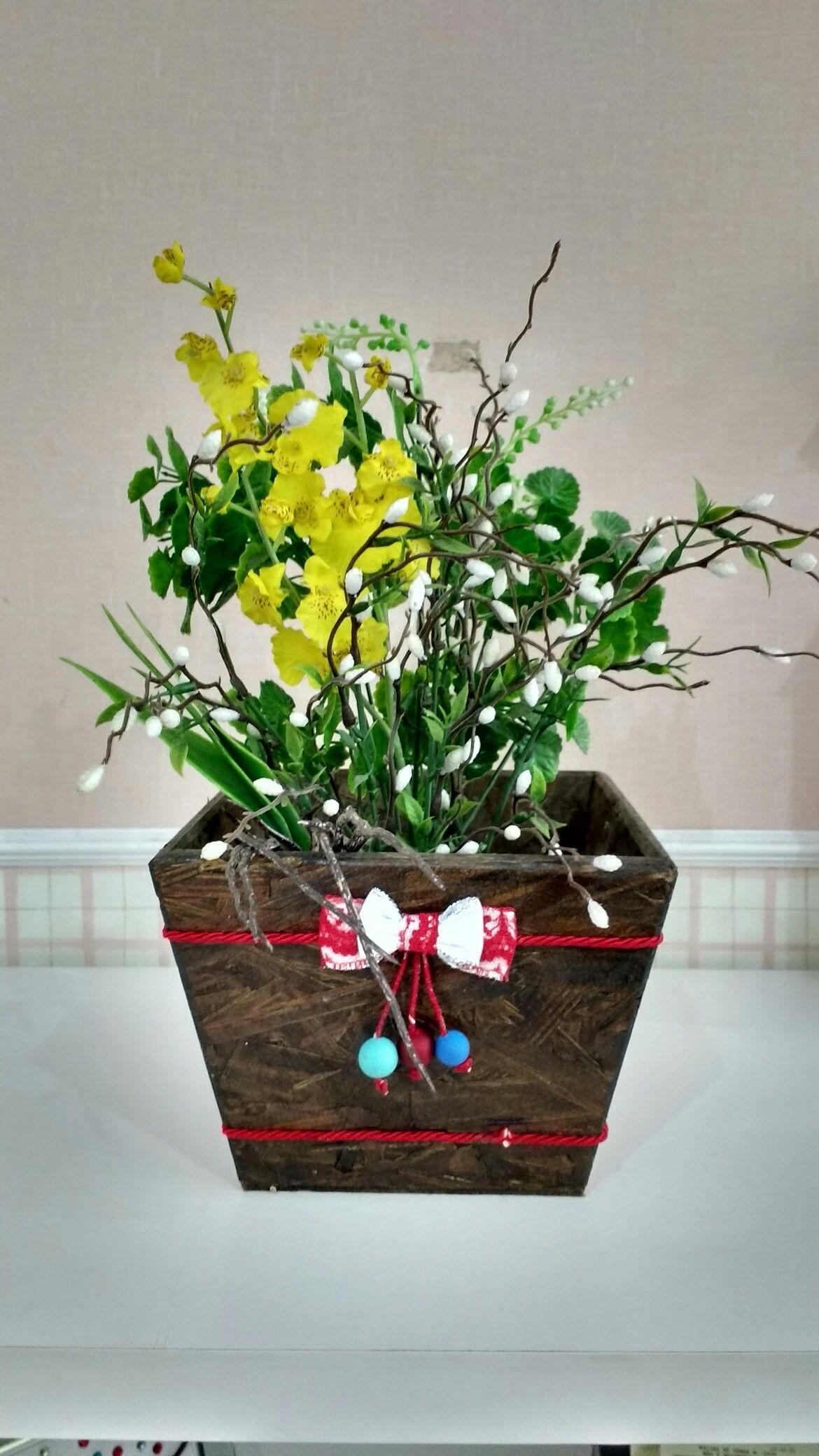 Reciclagem de vaso
