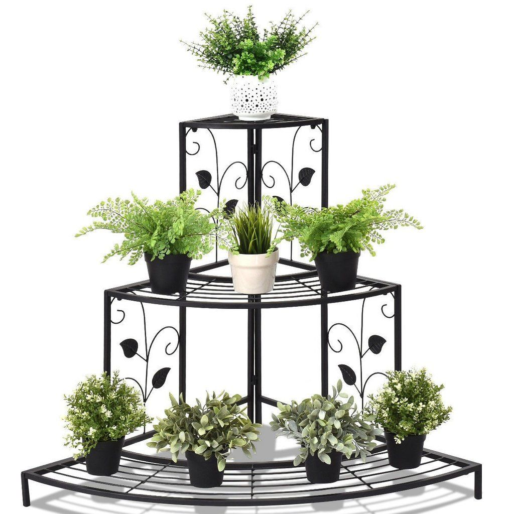 3 Tier Wrought Iron Plant Stand Wrought Iron Plant Stands Metal
