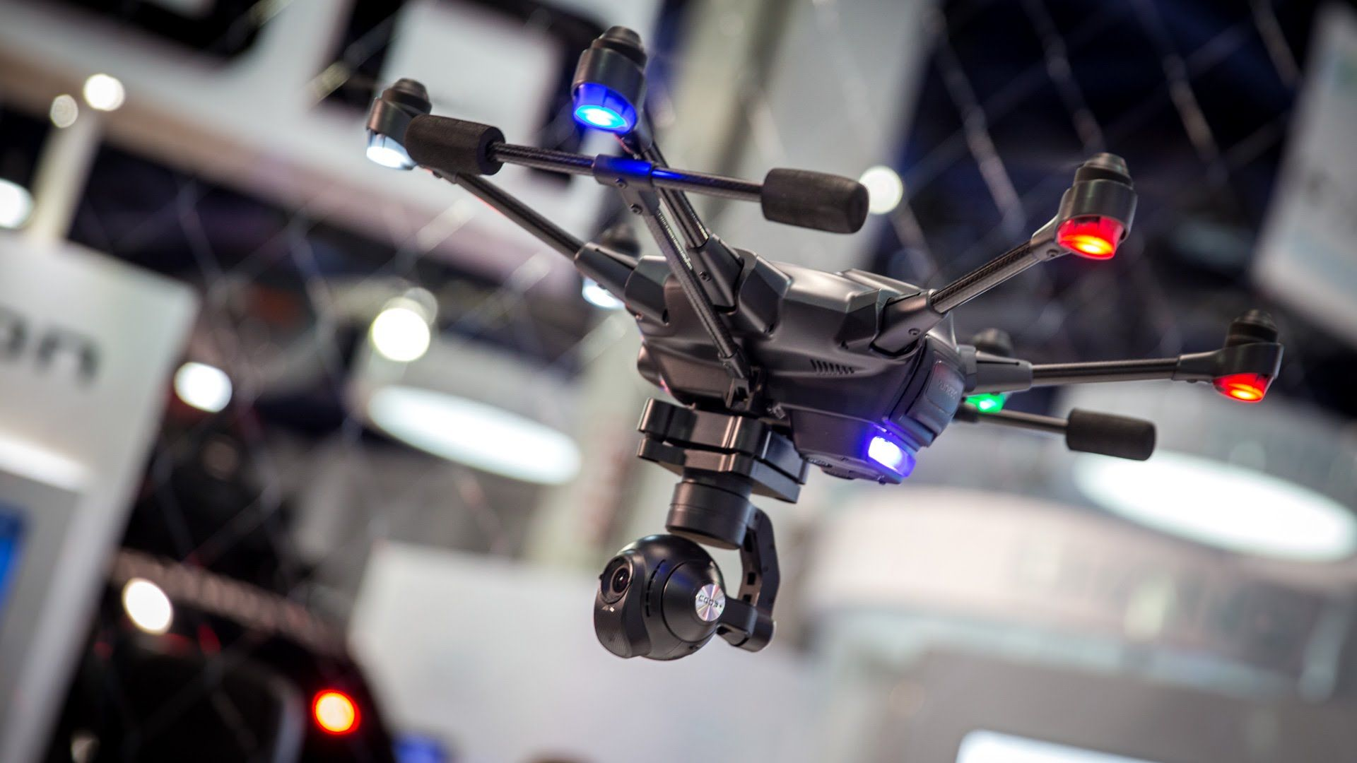 Typhoon H Drone Uses Intel Technology To Map Out A 3d Flight Path Yuneec Drones Yuneec Drone Design