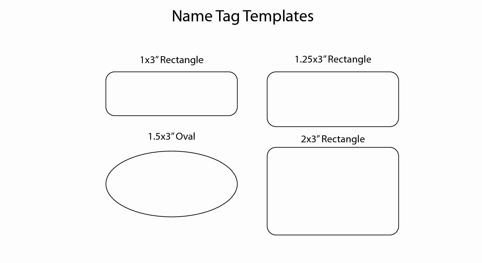 Name Tag Template Free Printable Lovely 14 Name Badge Templates Christmas Name Badge Name Tag Templates Templates Printable Free Tag Template Free Free name badge template word