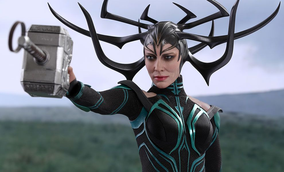 The Hot Toys Hela Sixth Scale Figure is now available at Sideshow.com for fans of Marvel, Thor Ragnarok, and Cate Blanchett.