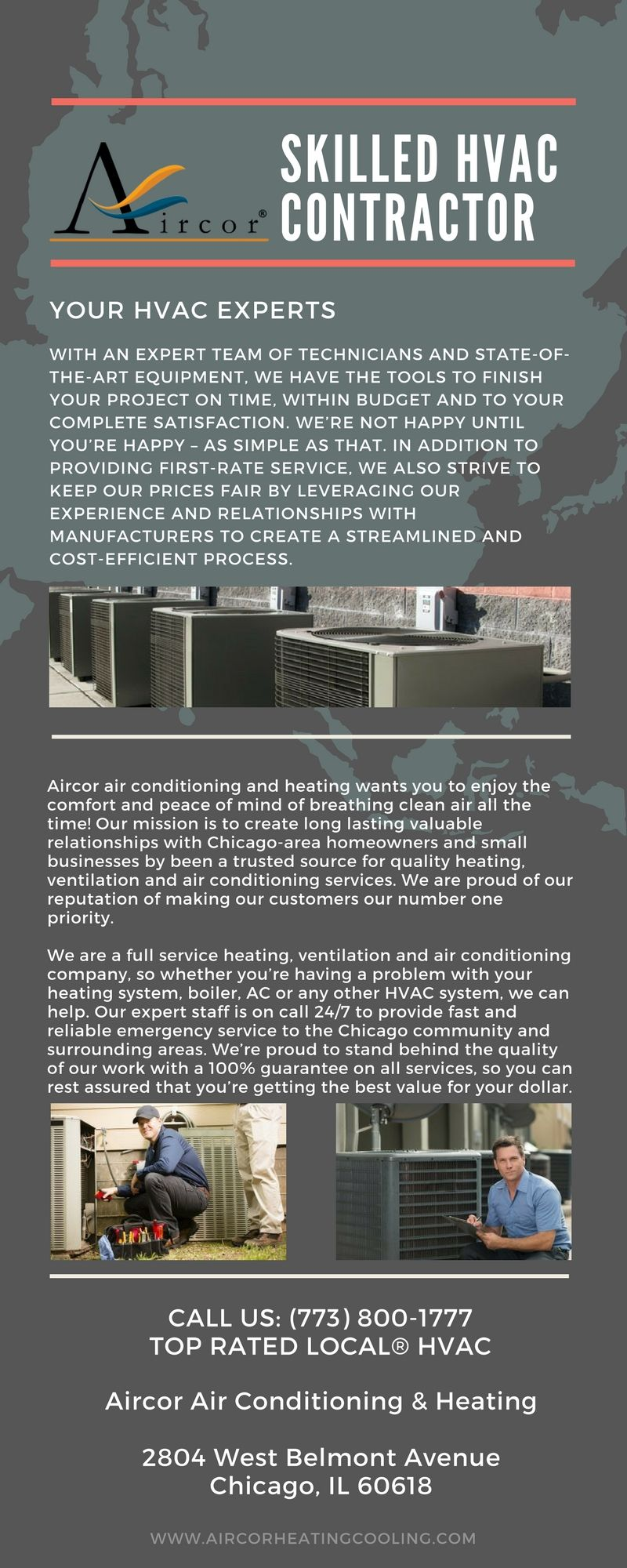 Aircor Chicago S Premier Air Conditioning And Heating Hvac