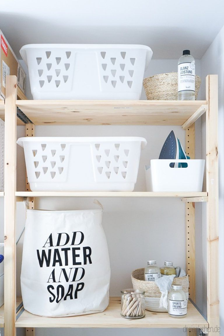 Waschraum Ideen: Tipps für mehr Ordnung im Abstellraum
