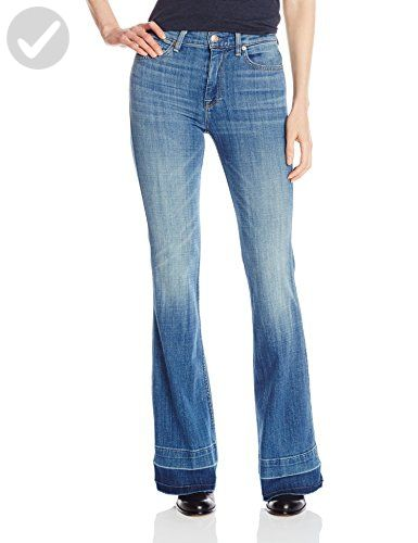 7 For All Mankind Women S Ginger With Released Hem Bright Light