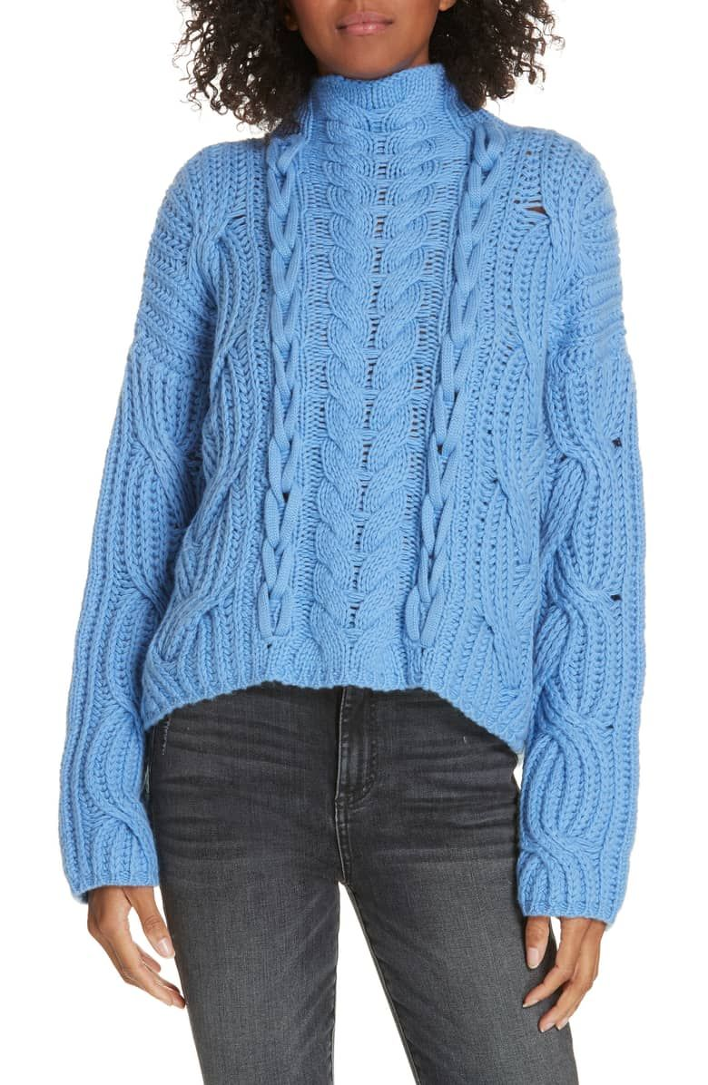 881194c0e25a Mix Cable Wool   Cashmere Sweater