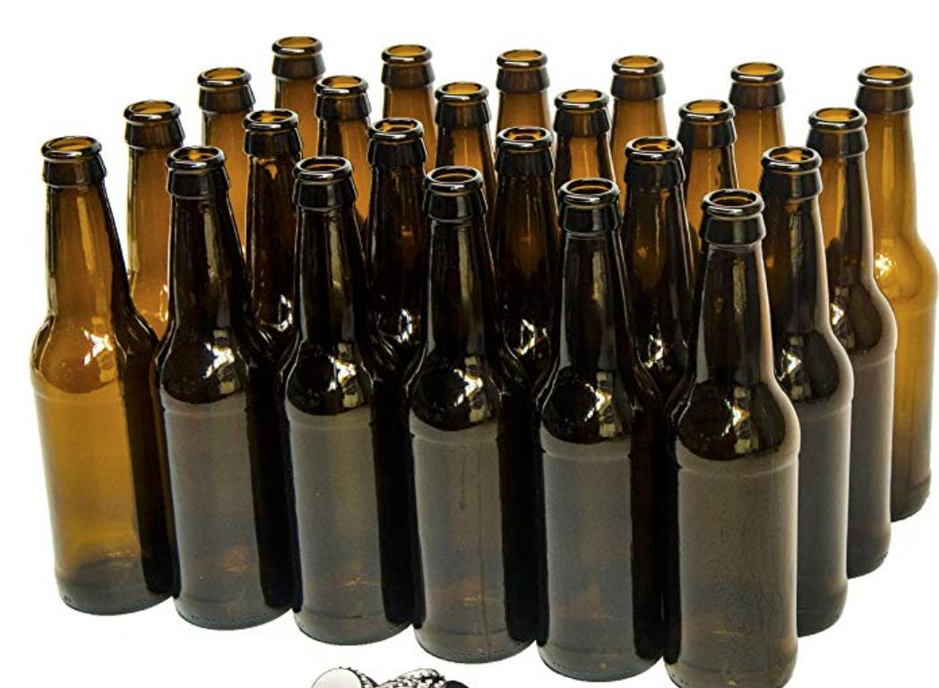 Amber Beer Bottles Case Of 24 Amber Beer Beer Bottle Bottle