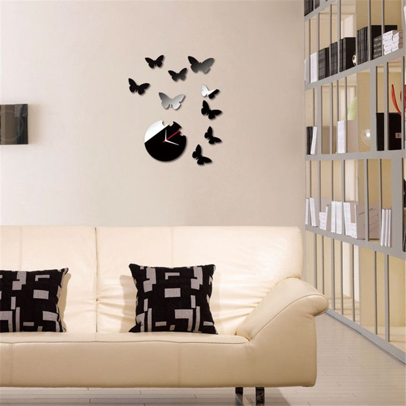 Butterfly DIY Acrylic 3D Mirror Wall Decal Wall Sticker Home