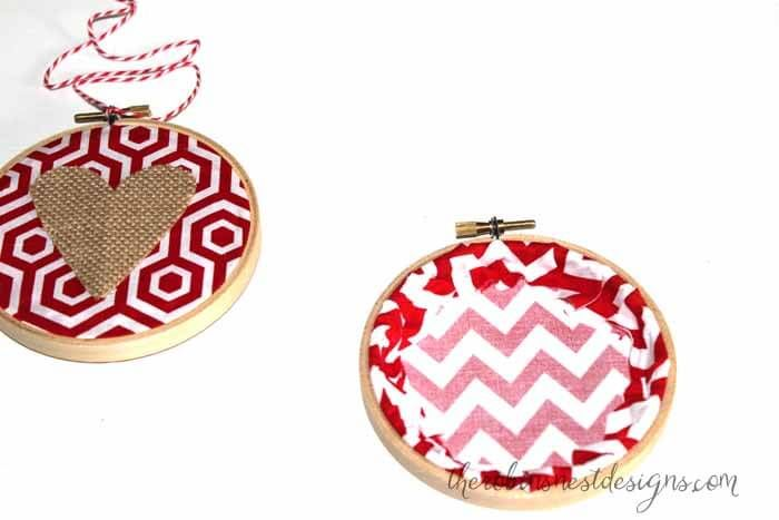 Valentine's Day Embroidery Hoop Craft