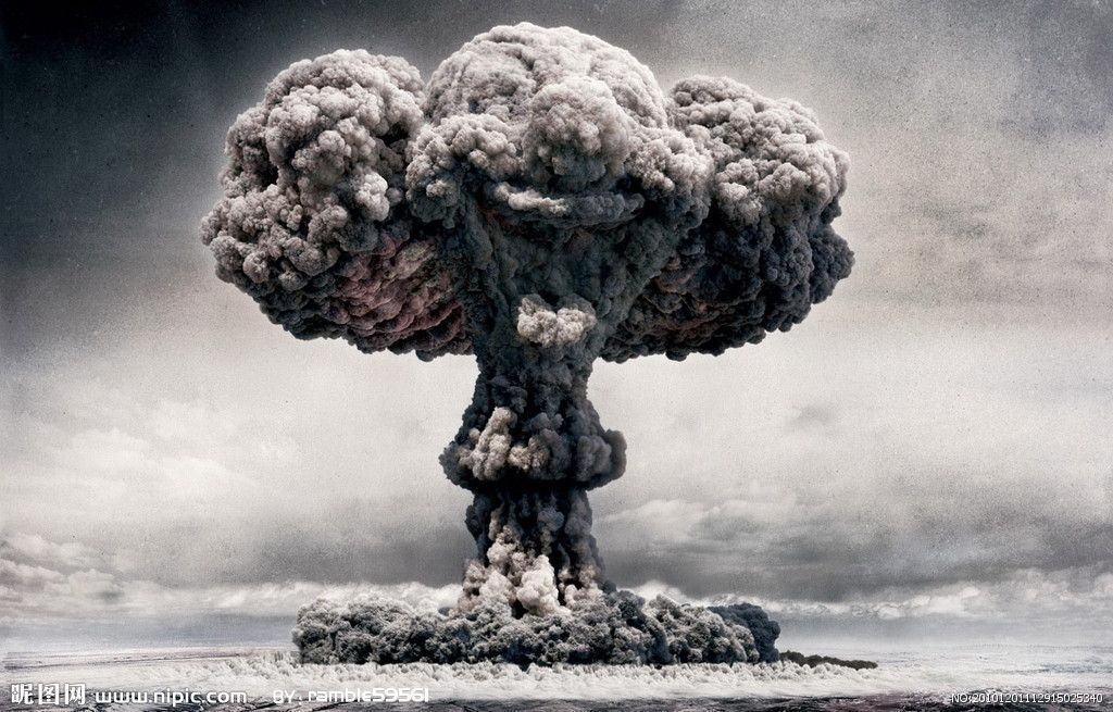 Mushroom Cloud Atomic Bomb Explosion Mushroom Cloud Atomic Bomb