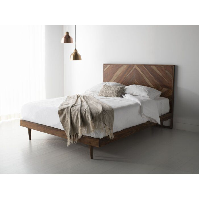 Alanna Platform Bed Platform Bed Upholstered Platform