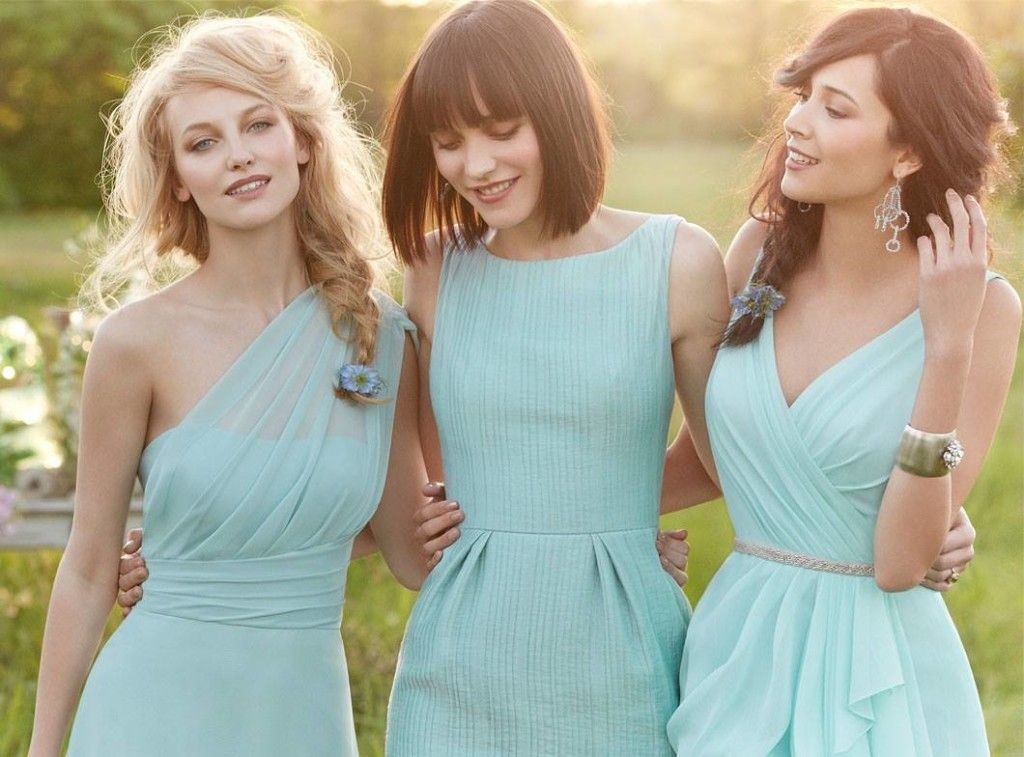 To my future bridesmaids  Wear whatever style of dress you want as long  it s the same color and they re all the same length. K cool 2e4fd059e75f