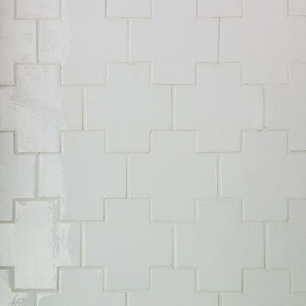 Ann Sacks White Cross Tile