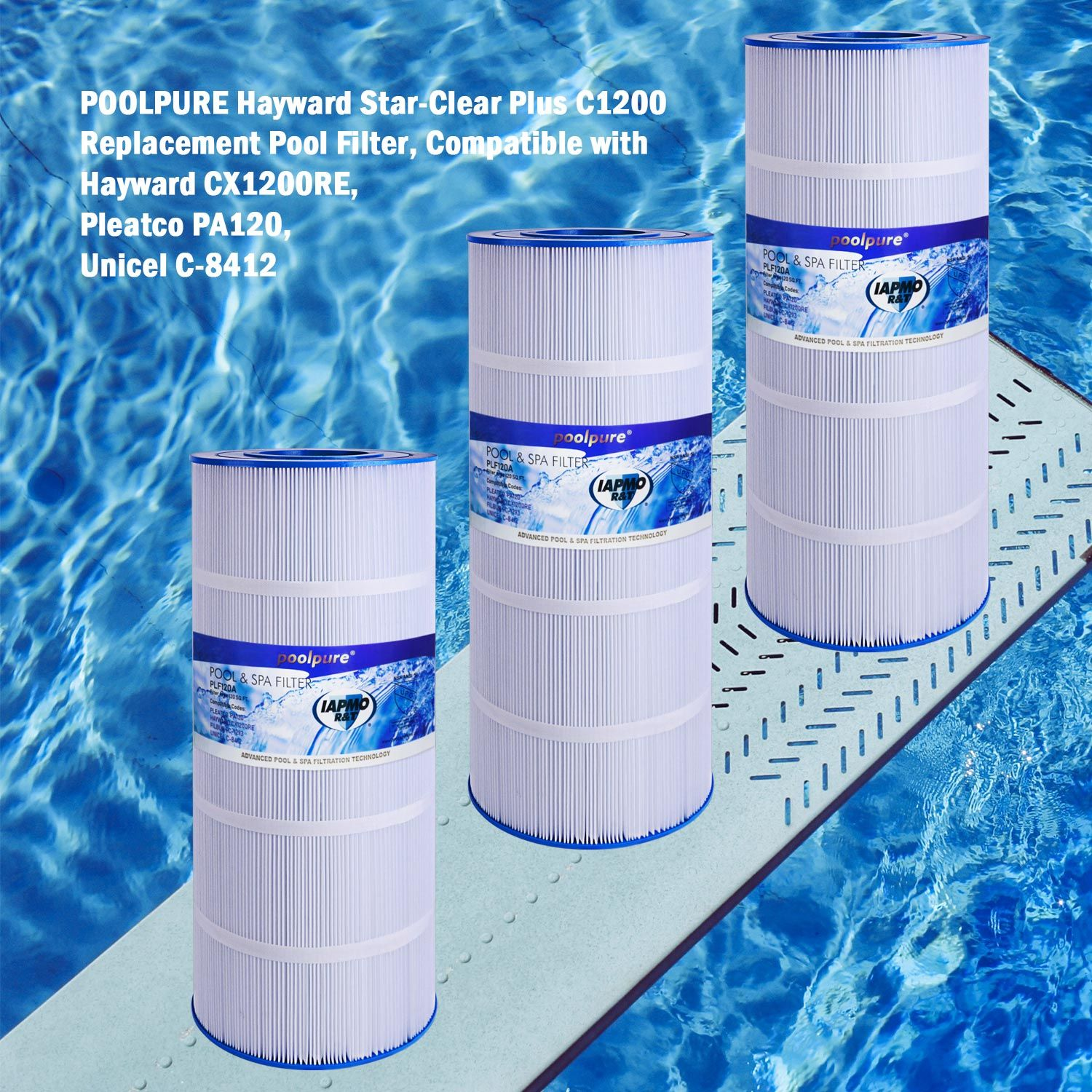 Poolpure Pool Filter Makes Water In The Pool Cleaner When Water