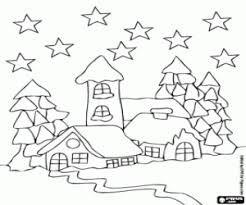 Risultati Immagini Per Disegni Di Paesaggi Natalizi Natale