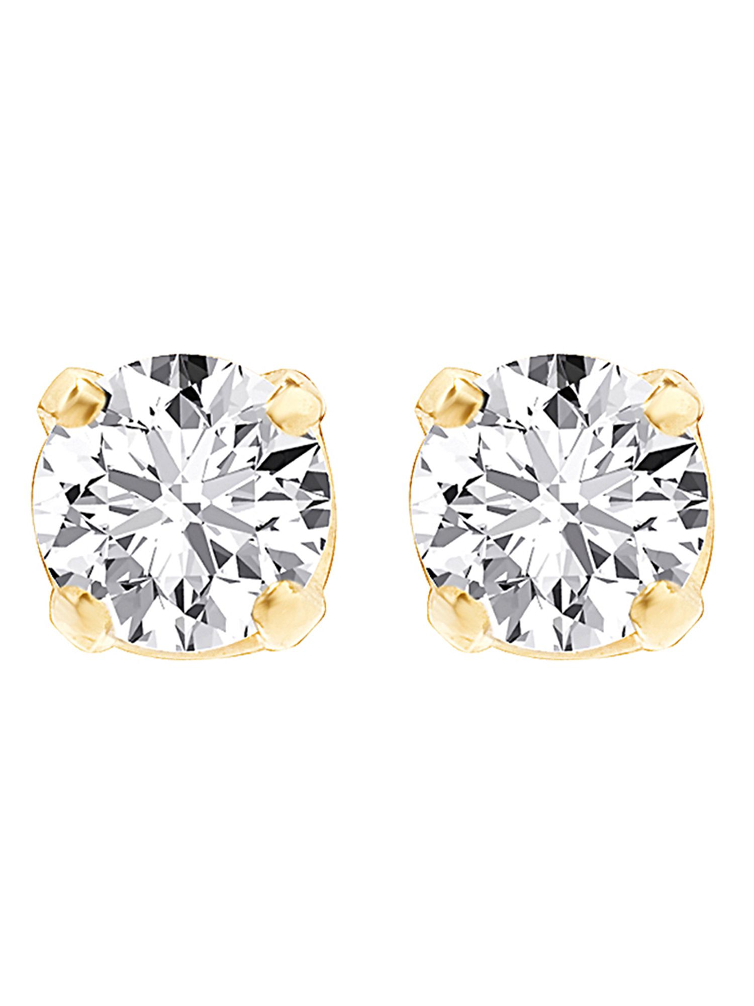 champagne ctw rose earrings in stud diamond gold brown halo