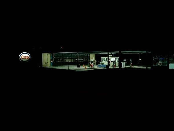 Esso Station in Nun's Island, Montreal, Quebec