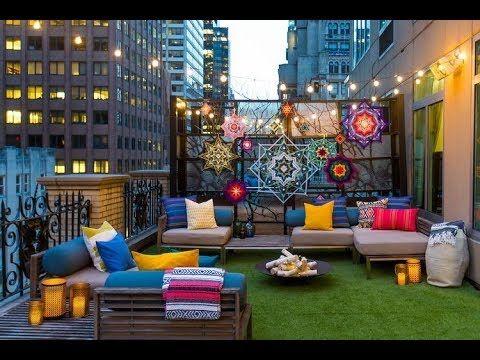 ديكور بلكونات تصاميم بلكونات صغيرة للمنازل و للشقق Terrace Decor Balcony Decor Terrace Design