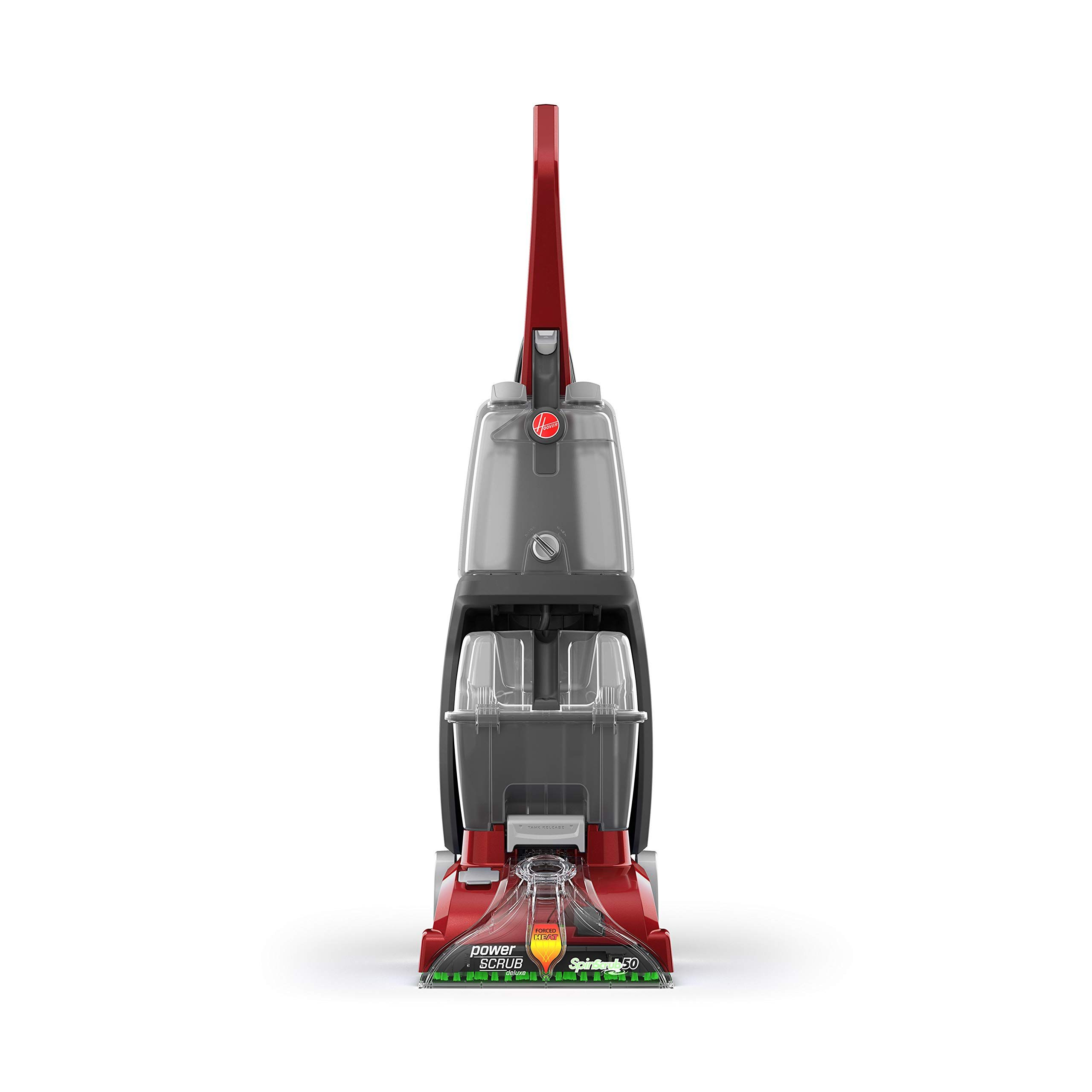 Hoover power scrub deluxe carpet cleaner machine upright
