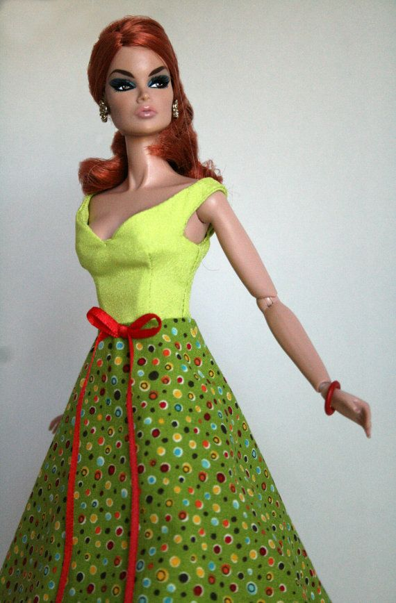 Dance The Night Away Dress for Barbie by ChicBarbieDesigns on Etsy