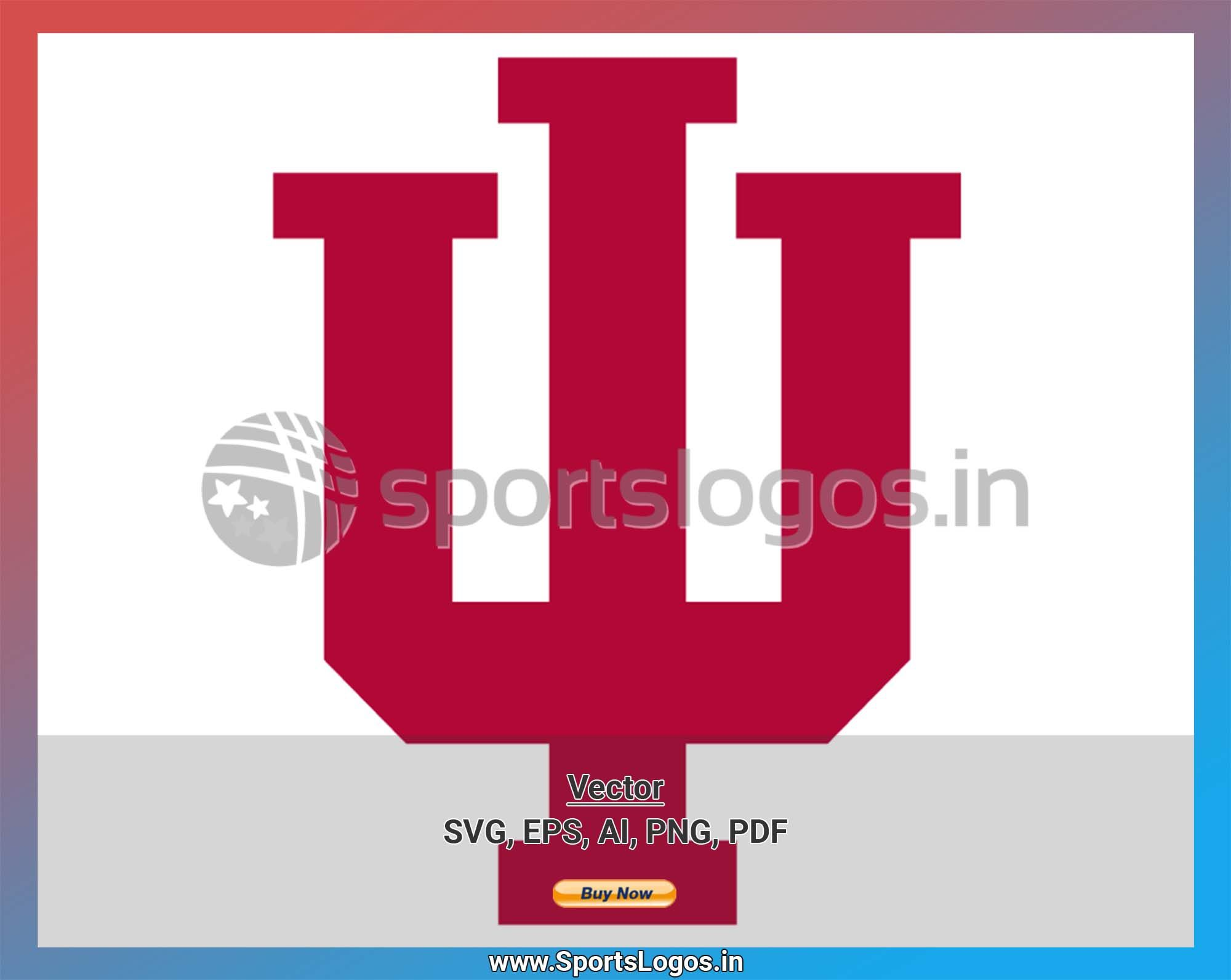 Indiana Hoosiers College Sports Vector Svg Logo In 5 Formats Spln001981 Sports Logos Embroidery Vector For Nfl Nba Nhl Mlb Milb And More In 2020 Indiana Hoosiers College Sports Embroidery Logo