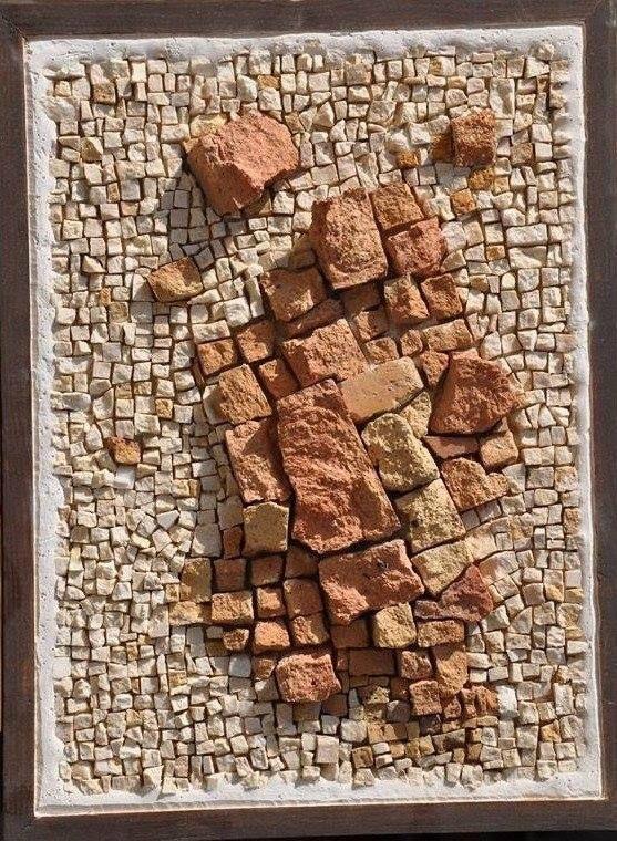 رخام و طوب حرارى 30 60 انتاج 2010 Glass Mosaic Art Abstract Mosaic Art Mosaic Art