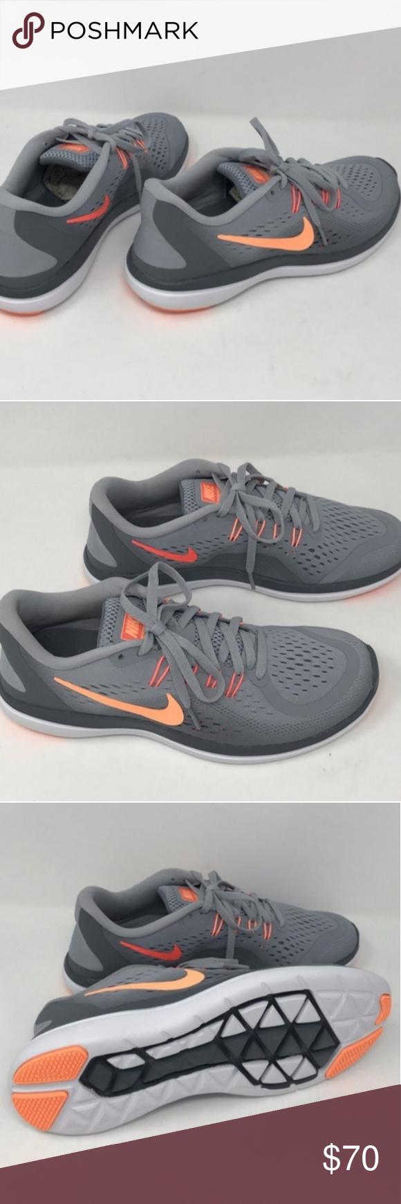 Grey nike running shoes, Sneakers