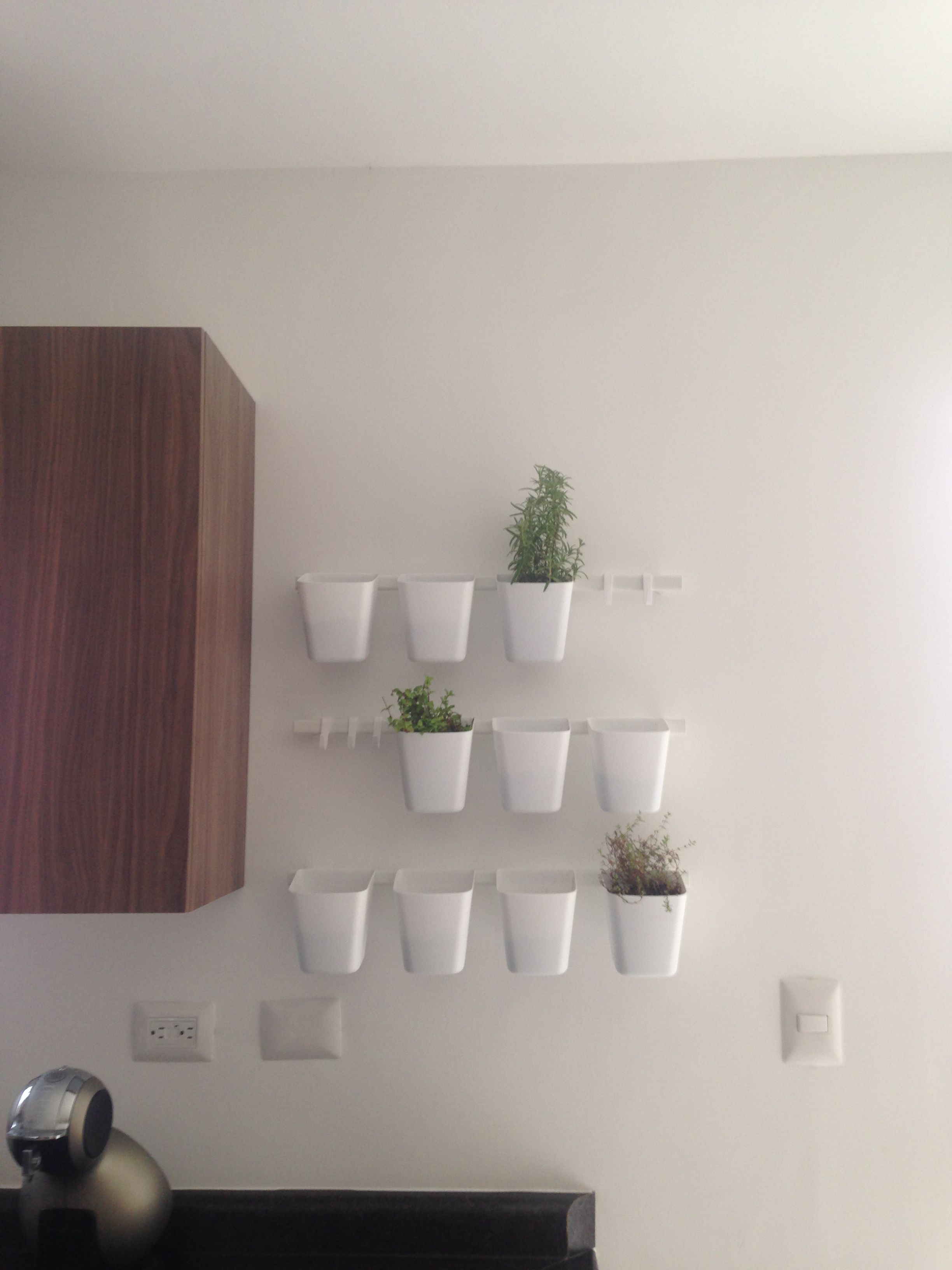 Sunnersta rails and planters ikea