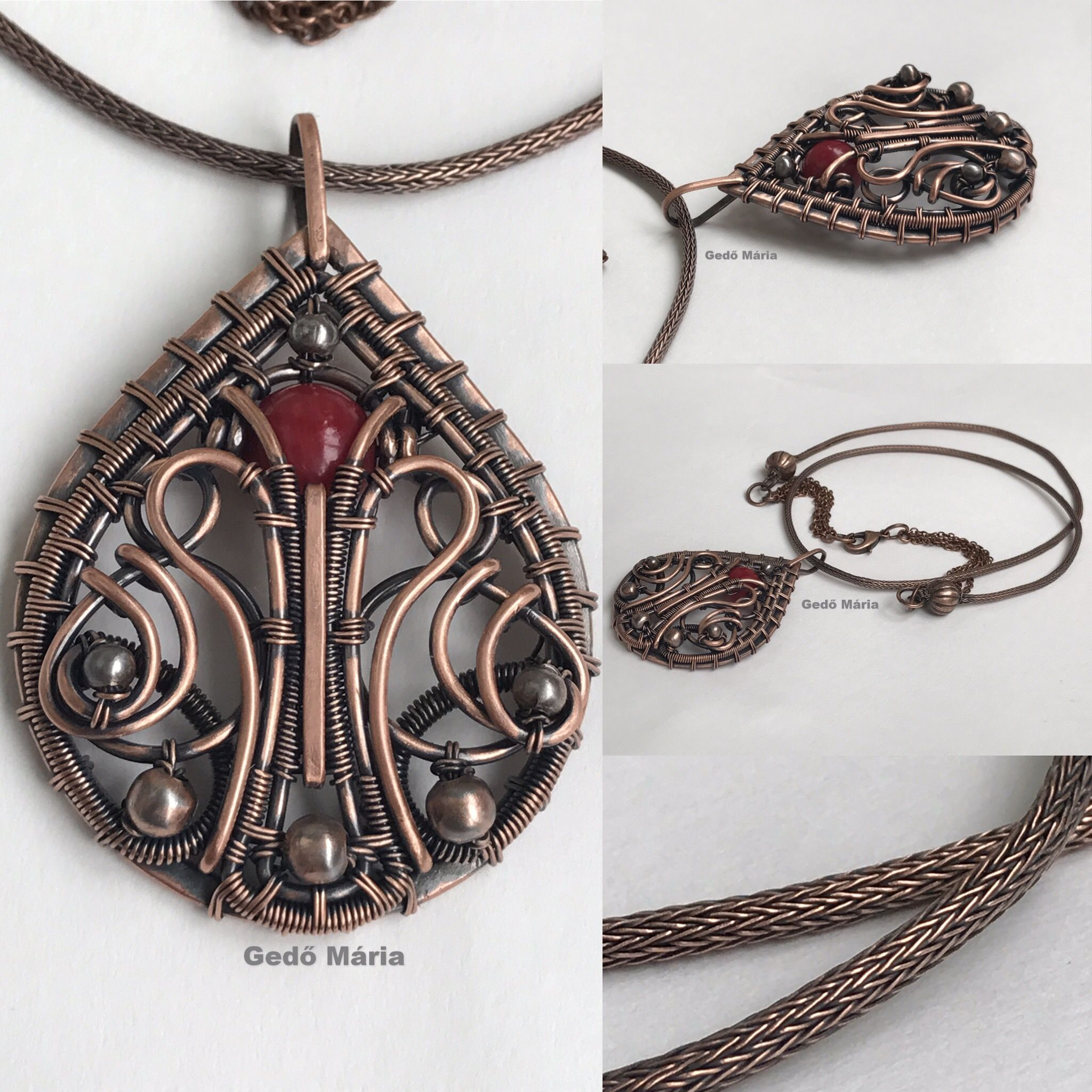 Pin by Gedő Mária on My own work | Pinterest | Wire wrapping, Wraps ...