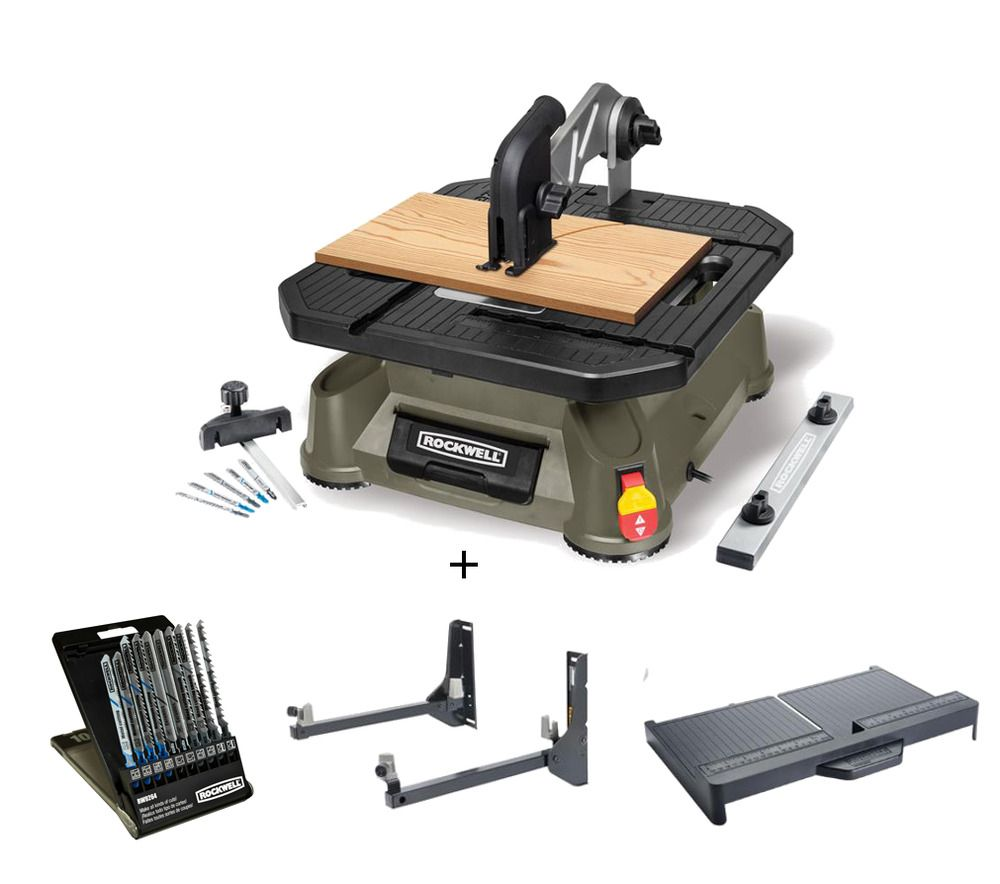 Rk7323 Rockwell Bladerunner X2 Tabletop Saw Combo
