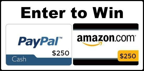 Enter To Win 250 Paypal Cash Or Amazon Com Gc Banner Paypal Gift Card Paypal Cash Amazon Gift Cards