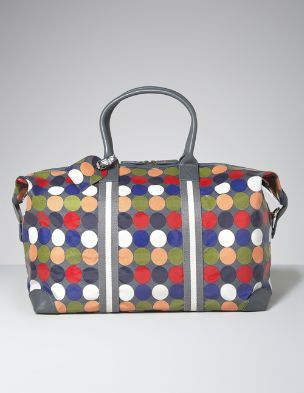 608c2674df7 Polka Dots · Wales · Oil Cloth Overnight Bag from Boden My Favorite Color