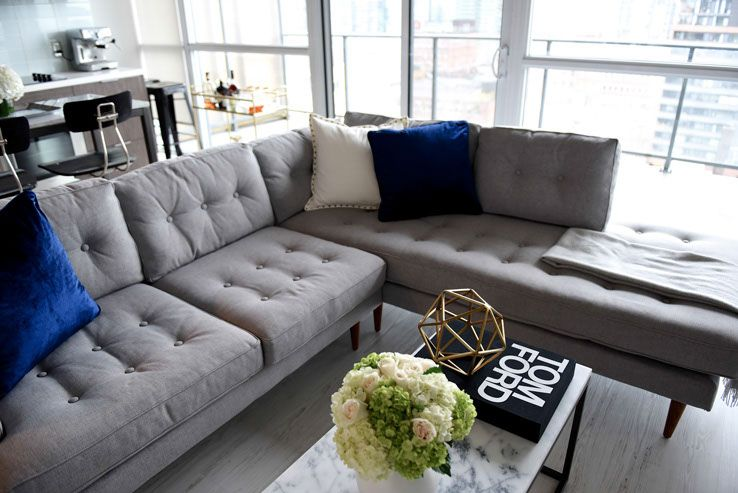 incredible west elm living room decorating inspiratio   Don't be intimidated by sectionals — west elm has options ...