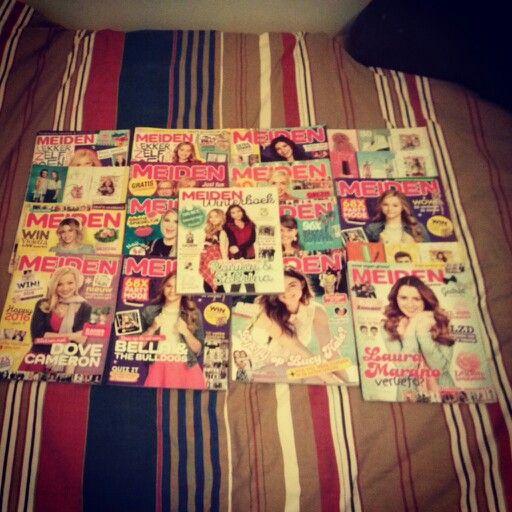 MeidenMagazine verzameling. Inmiddels zijn het er al veel meer ;)
