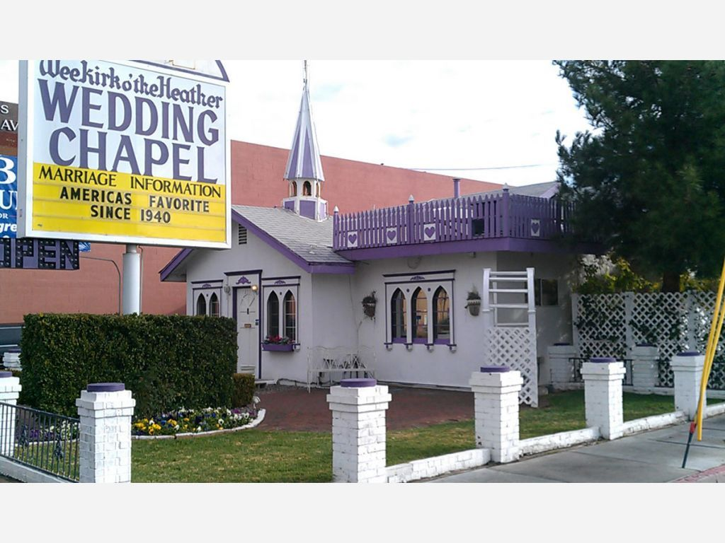 I shared an image of wee kirk o the heather wedding