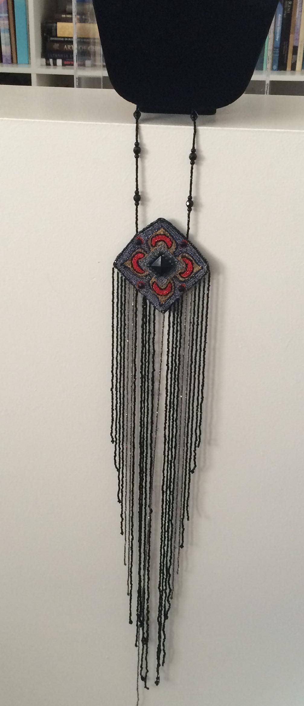 1920's Flapper Dress Piece Necklace from a-connoisseurs-collection on Ruby Lane